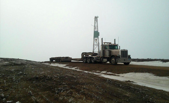 oil field construction